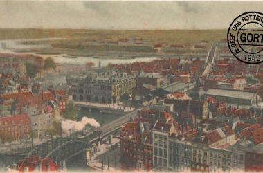Panorama van Rotterdam 1901